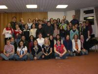 27-30 March 2008. Nastya Chirkova and Olena Mool took part in Pick 'n Mix Seminar at Pax Lodge centre, London.