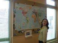 Ось де Україна на карті - показує Настя Чіркова