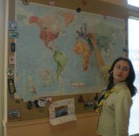 "Nastya Chirkova: ""Here you can find Ukraine!"""