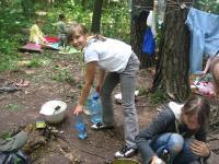 Найважливіше вміння в наметовому таборі - навчитись готувати їжу на вогнищі