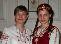 At the International Evening - International Commissioner of Ukraine and Armenia - Anna Prytysk and Aya Zakaryan