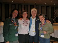 Worl Market - special event where you can easily meet the Chairman of the WAGGGS World Board
