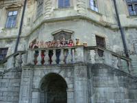 Підгорецький замок знаходиться на реконструкції, але все одно вражає своєю величчю
