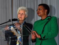 Graca Machel received a WAGGGS World Citizenship Award