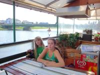 Boat trip by Wisla river