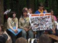 Під час табору відбувалась презентація міських громадських організацій