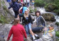 Група учасників під час походу