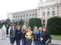 Після закінчення табору дівчата поїхали відвідати Відень - адже це зовсім поруч