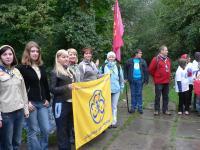 Делегація АГУ під час Всеукраїнської лінійки
