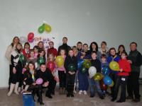 Учасники святкування в Алчевську