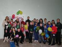 Celebration in Alchevsk