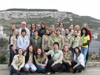 """Учасники тренінгу """"Зоряний шлях"""", 29-31 січня 2010 року, Бахчисарай. Детальніше: http://www.girlguiding.org.ua/ua/about/news/TOT"""