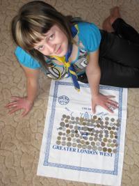 Надія з Чернівців збирає колекцію - 100 різних монет