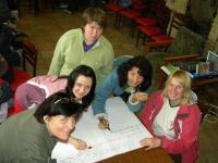 Групи працюють над визначенням потреб дівчат