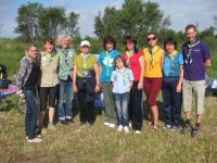 Українська група разом з головними організаторами