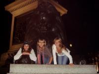 Наши львицы затмили льва на Трафальгарской площади